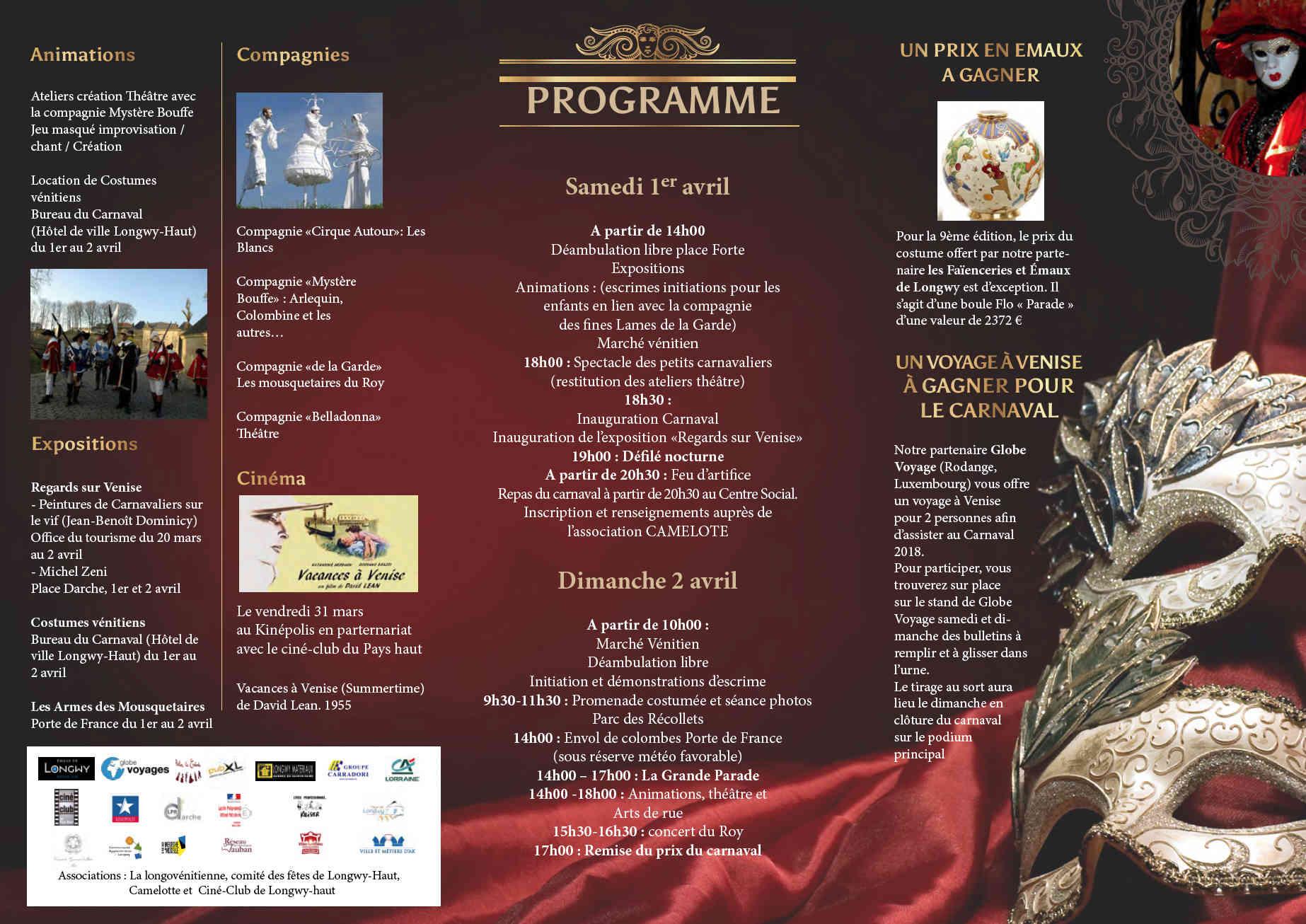 Carnaval vénitien à Longwy - le 02 avril 2017 17040211