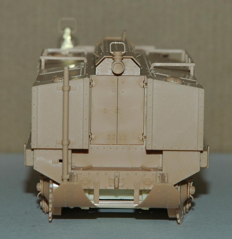 Le Schneider Ca Armored de Hobby Boss au 1/35ème 01010