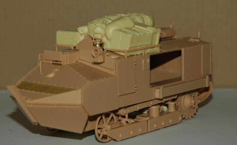 Le Schneider Ca Armored de Hobby Boss au 1/35ème 01310