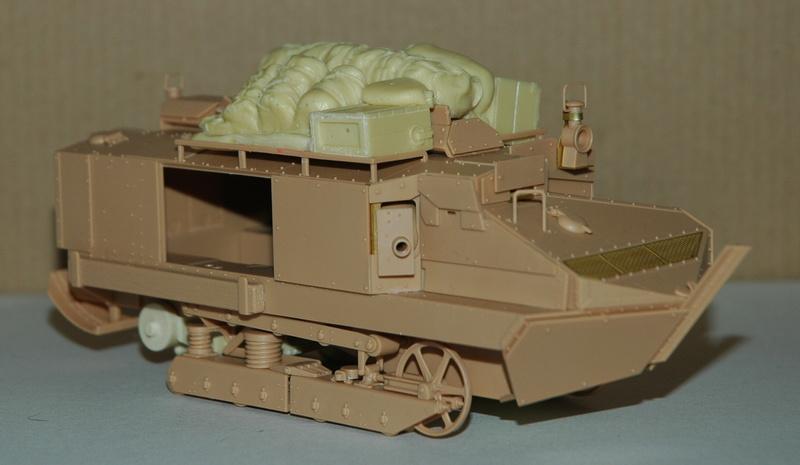 Le Schneider Ca Armored de Hobby Boss au 1/35ème 01510