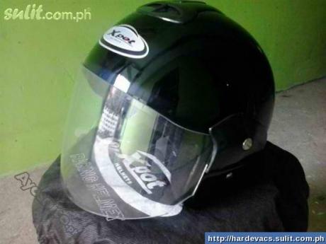 For Sale:  X-Pot Half-face Helmet (Black) X10