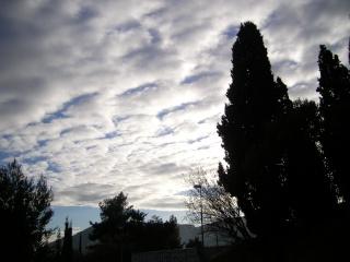 Ciel couvert en Provence -  Sany0143