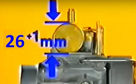 Réglage du carburateur BVF 22N2 pour ETZ 125 Hauteu10