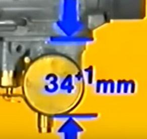 Réglage du carburateur BVF 22N2 pour ETZ 125 Niveau11