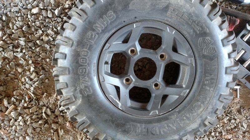 Rzr 900 wheels and tires. ****Sold ***** Img_2032