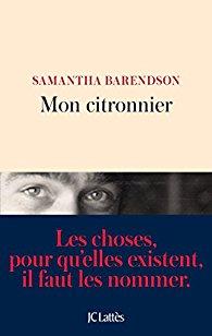 [Barendson, Samantha] Mon citronnier 41m55j11