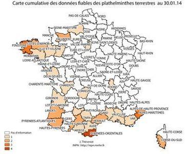 Alerte: le ver tueur d'escargots débarque en Europe Carte-10