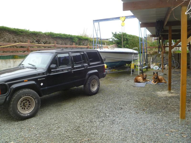 Démontage d'un bateau a moteur et réfection totale P1050510