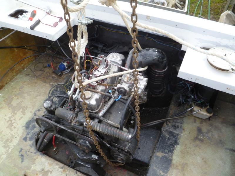 Démontage d'un bateau a moteur et réfection totale P1050514