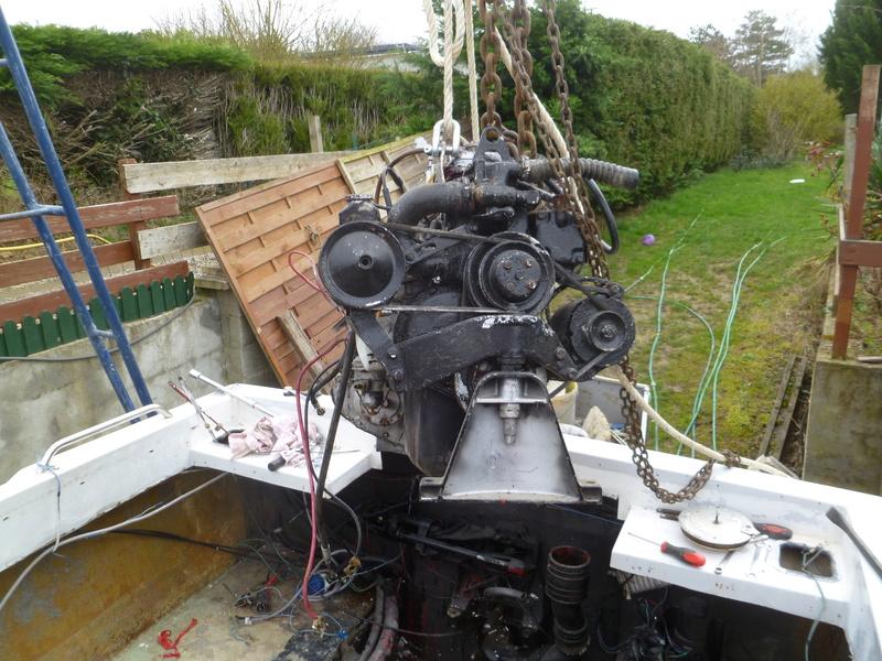 Démontage d'un bateau a moteur et réfection totale P1050517