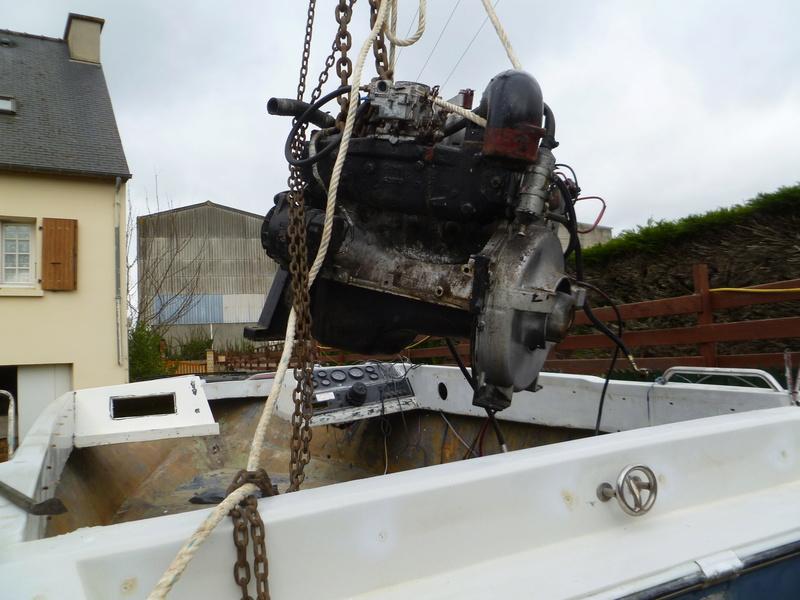 Démontage d'un bateau a moteur et réfection totale P1050518