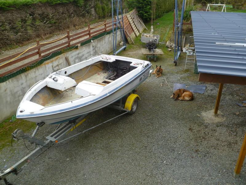 Démontage d'un bateau a moteur et réfection totale P1050520