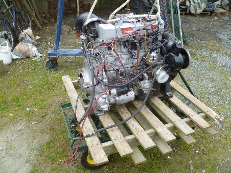 Démontage d'un bateau a moteur et réfection totale P1050521