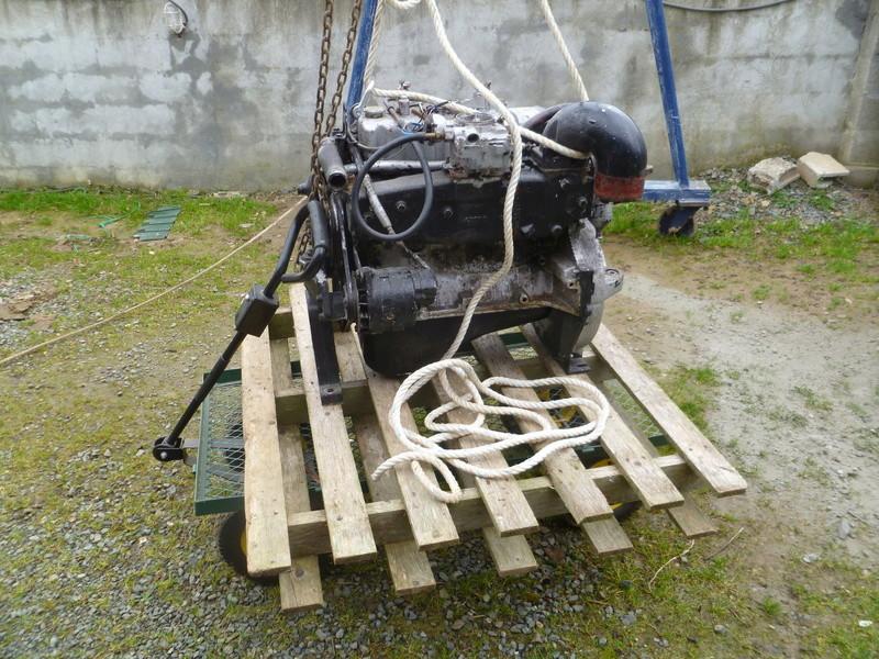 Démontage d'un bateau a moteur et réfection totale P1050522