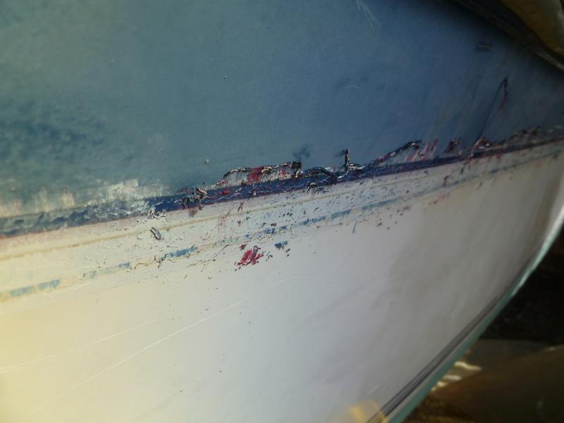 Démontage d'un bateau a moteur et réfection totale P1050524