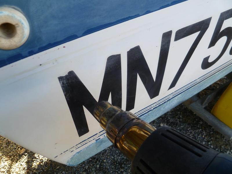 Démontage d'un bateau a moteur et réfection totale P1050528