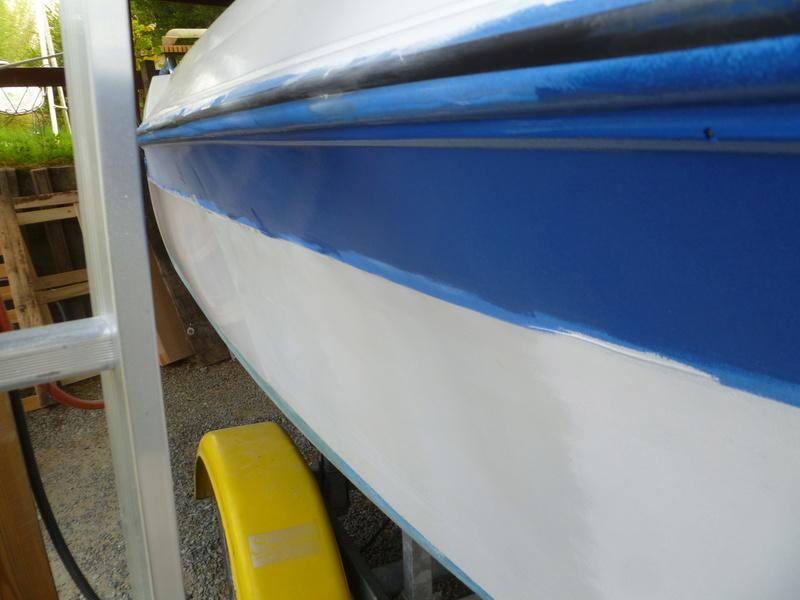 Démontage d'un bateau a moteur et réfection totale P1050621