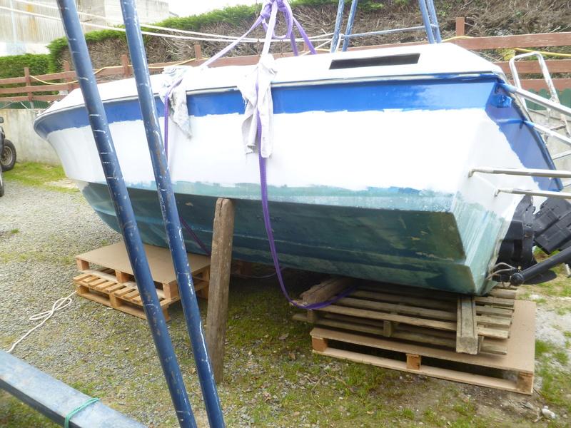 Démontage d'un bateau a moteur et réfection totale P1050630