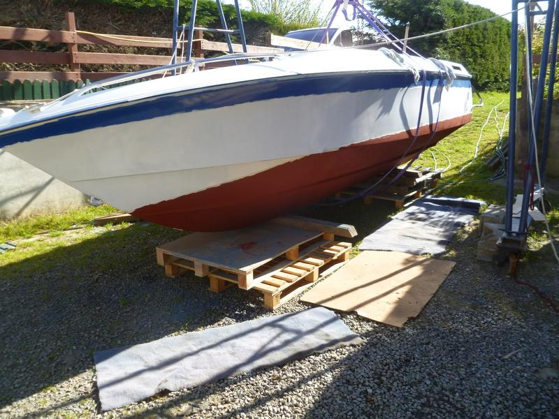 Démontage d'un bateau a moteur et réfection totale P1050632