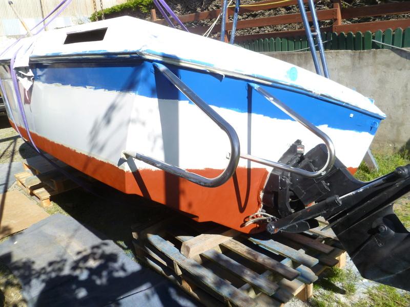 Démontage d'un bateau a moteur et réfection totale P1050634