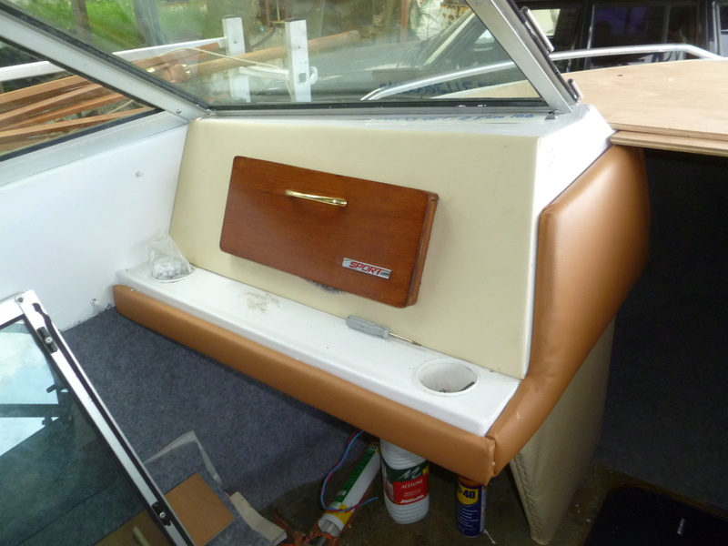 Démontage d'un bateau a moteur et réfection totale P1050719