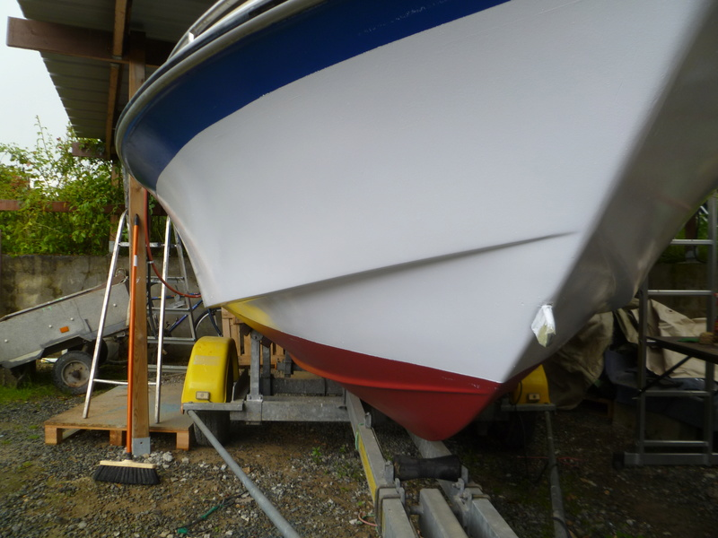 Démontage d'un bateau a moteur et réfection totale P1050730