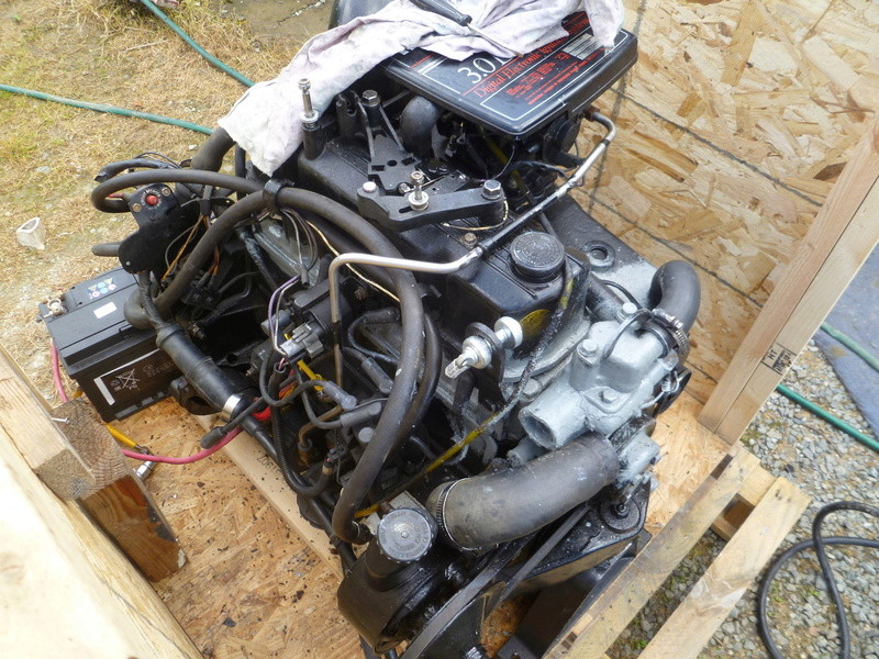 Démontage d'un bateau a moteur et réfection totale P1050743