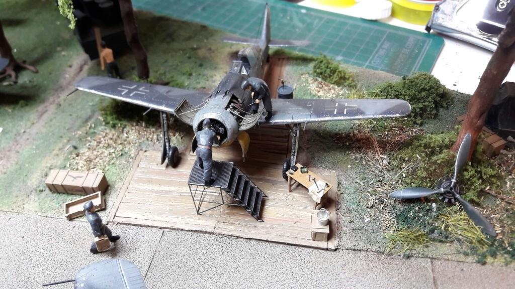 FW 190A8 - EDUARD ROYAL CLASS + Brassin -1/72 + projet diorama (Trois avions terminés) - Page 9 20170315