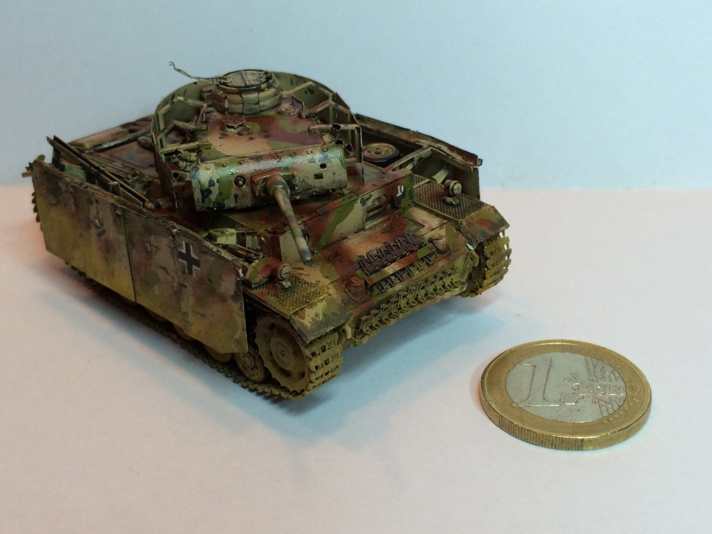 Panzer 3 Ausf M Revell + photodécoupe eduard 1/72 Image10