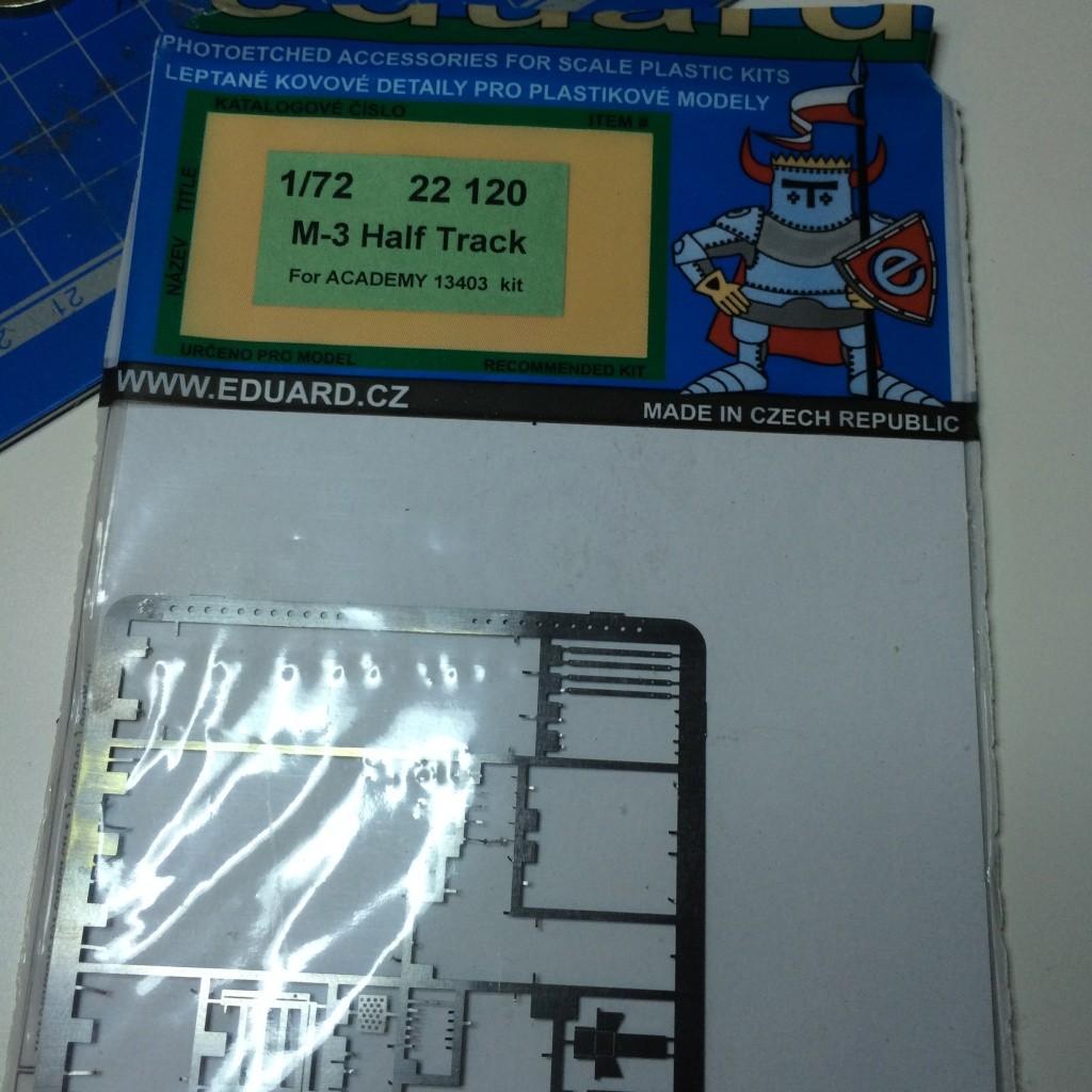 M3 Half track Academy 13408 + eduard 22120 - 1/72 Image_10