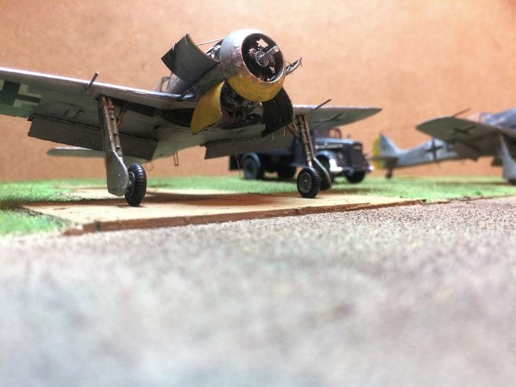 FW 190A8 - EDUARD ROYAL CLASS + Brassin -1/72 + projet diorama (Trois avions terminés) - Page 5 Img_7633