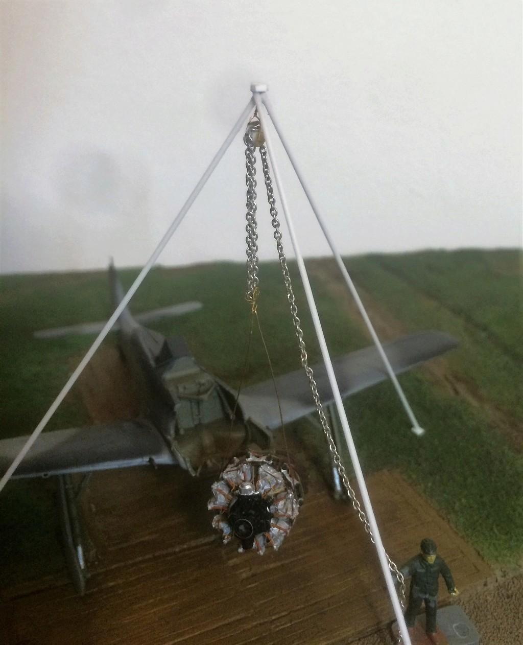 FW 190A8 - EDUARD ROYAL CLASS + Brassin -1/72 + projet diorama (Trois avions terminés) - Page 5 Img_7636