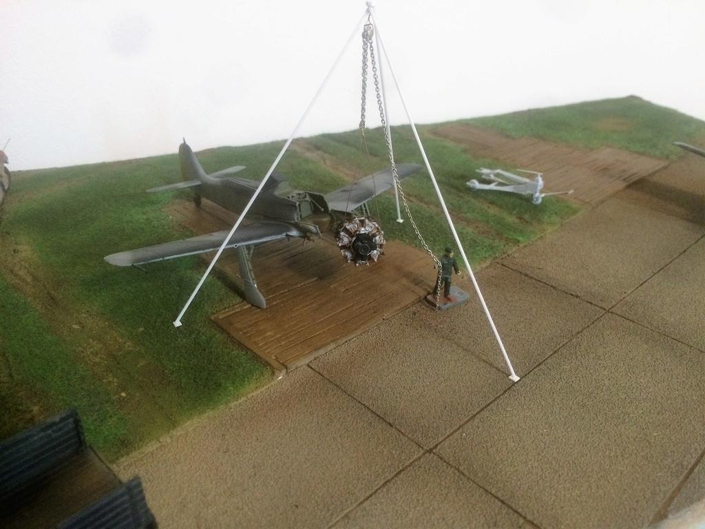 FW 190A8 - EDUARD ROYAL CLASS + Brassin -1/72 + projet diorama (Trois avions terminés) - Page 5 Img_7638