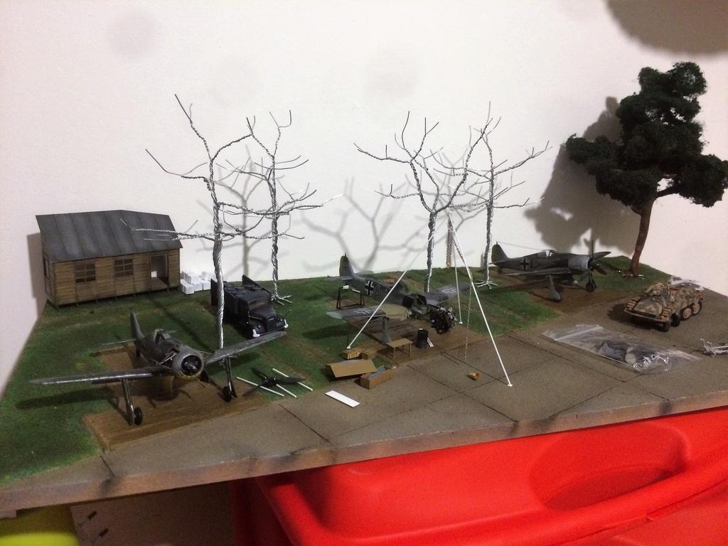 FW 190A8 - EDUARD ROYAL CLASS + Brassin -1/72 + projet diorama (Trois avions terminés) - Page 6 Img_7735