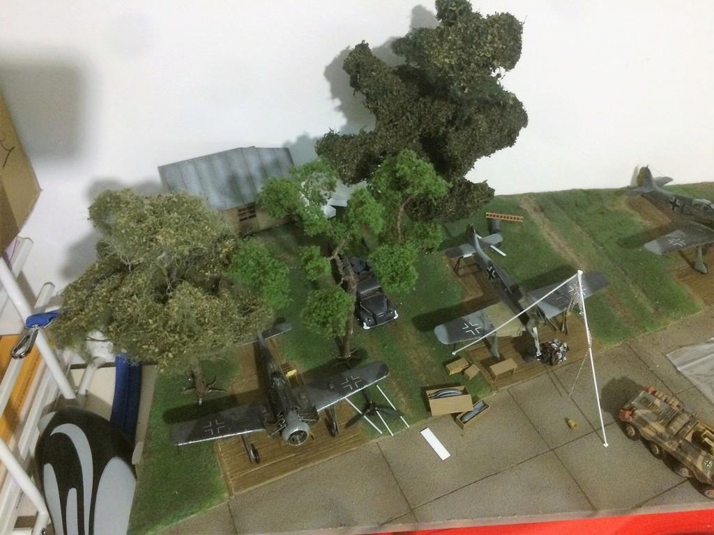 FW 190A8 - EDUARD ROYAL CLASS + Brassin -1/72 + projet diorama (Trois avions terminés) - Page 6 Img_7743
