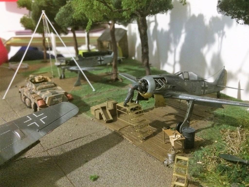 FW 190A8 - EDUARD ROYAL CLASS + Brassin -1/72 + projet diorama (Trois avions terminés) - Page 8 Img_7812