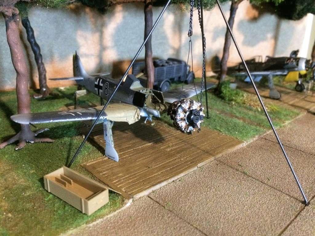 FW 190A8 - EDUARD ROYAL CLASS + Brassin -1/72 + projet diorama (Trois avions terminés) - Page 9 Img_7912