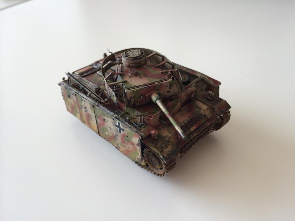 Panzer 3 Ausf M Revell + photodécoupe eduard 1/72 Photo_10