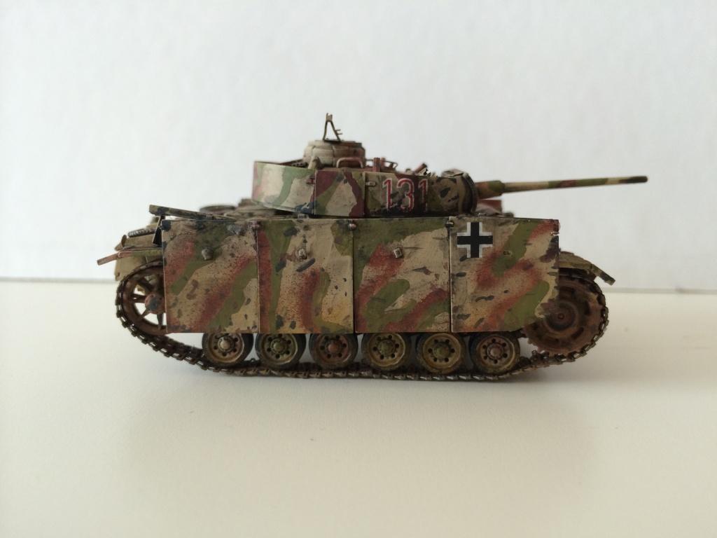 Panzer 3 Ausf M Revell + photodécoupe eduard 1/72 Photo_12