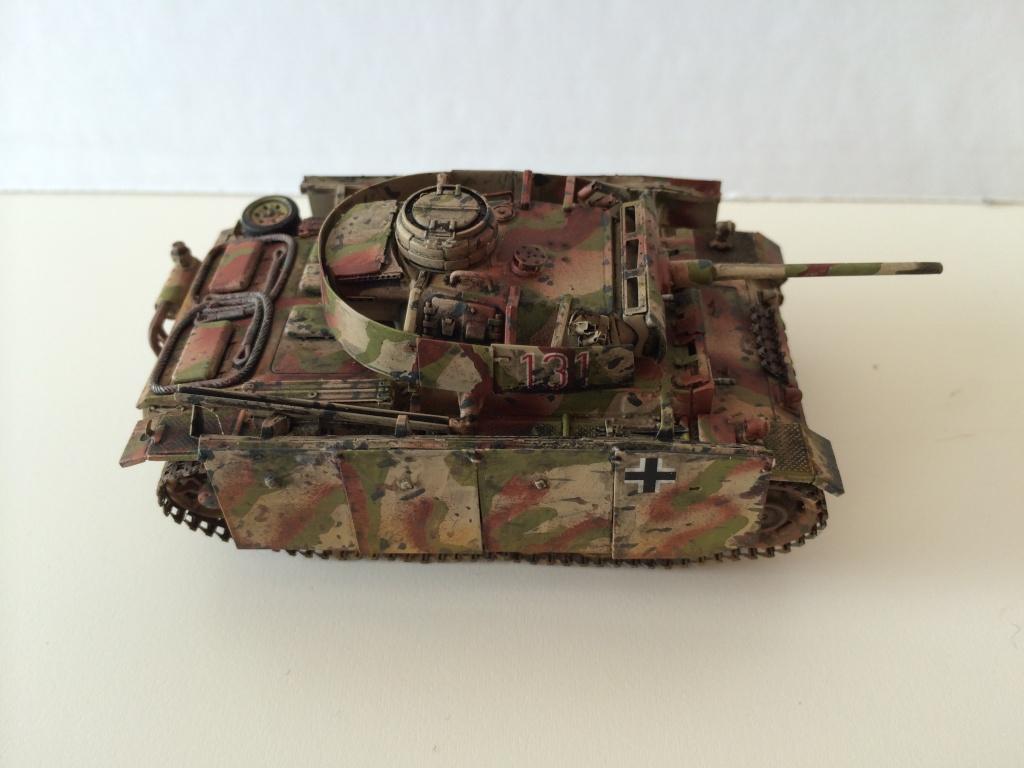 Panzer 3 Ausf M Revell + photodécoupe eduard 1/72 Photo_13