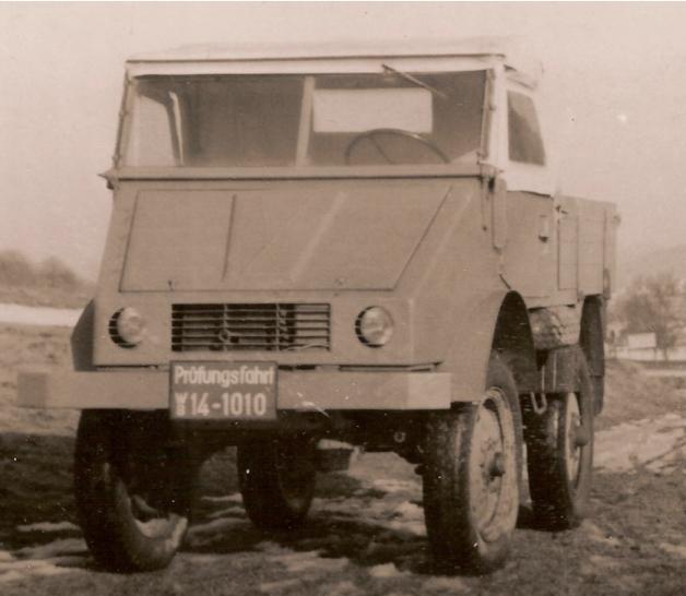 cherche unimog années 1946 à 1948 Unimog18