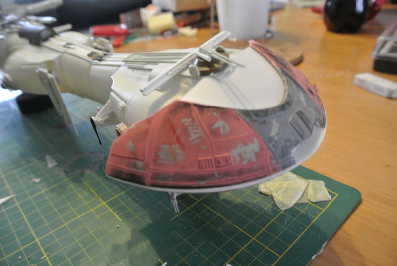 STAR WARS dornean gunship rogue one version Dsc_0315