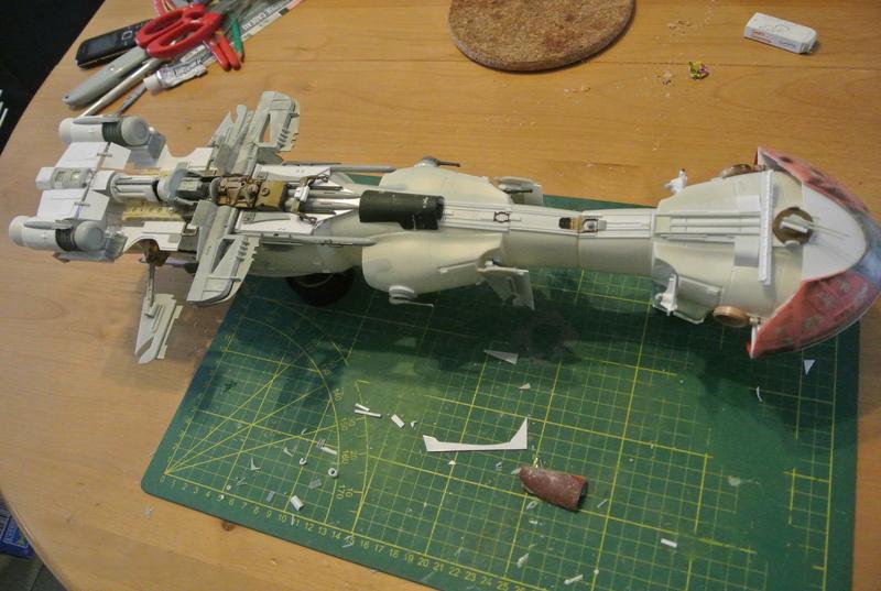 STAR WARS dornean gunship rogue one version Dsc_0317