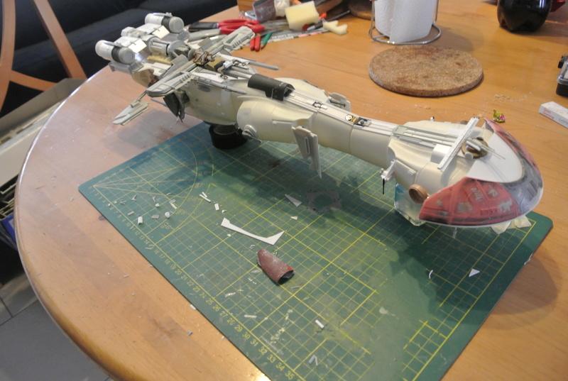 STAR WARS dornean gunship rogue one version Dsc_0319
