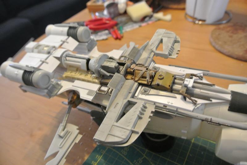 STAR WARS dornean gunship rogue one version Dsc_0320