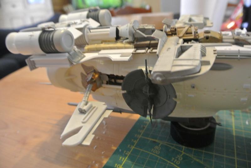 STAR WARS dornean gunship rogue one version Dsc_0321