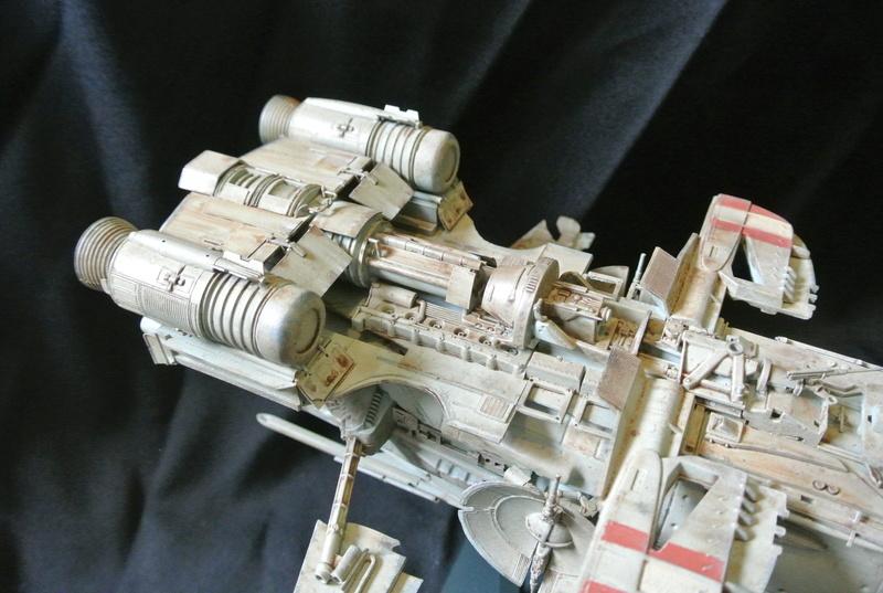 STAR WARS dornean gunship rogue one version Dsc_0412