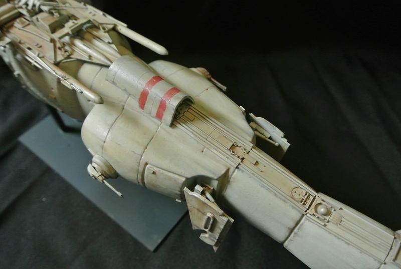 STAR WARS dornean gunship rogue one version Dsc_0415