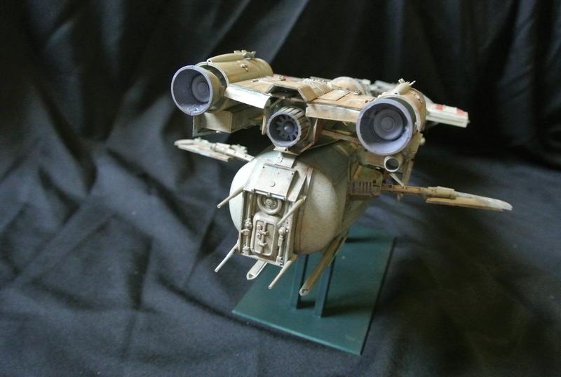 STAR WARS dornean gunship rogue one version Dsc_0420