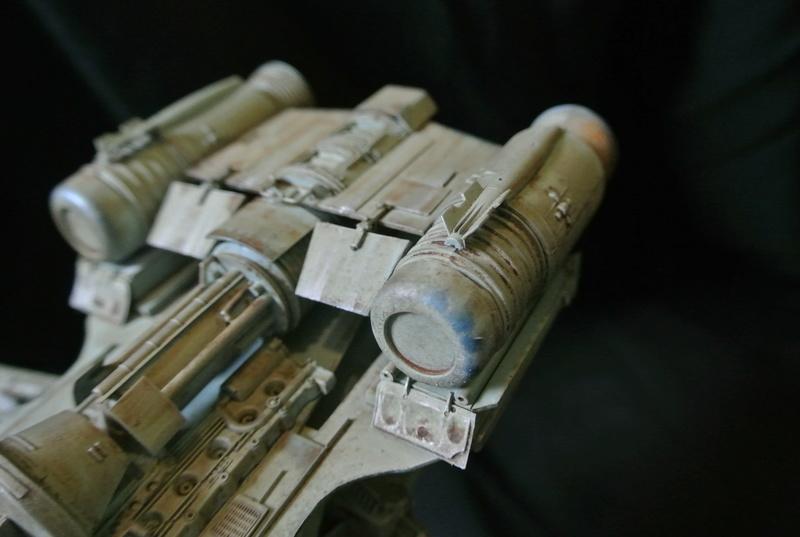 STAR WARS dornean gunship rogue one version Dsc_0511